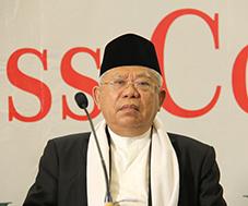 kh-maruf-amin-dialog-nasional-untuk-hindari-kecurigaan